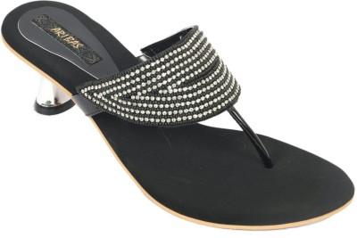 ARIBAS Women Black Heels