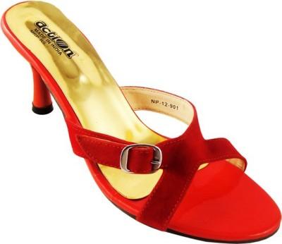 Action Women Red Heels