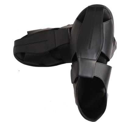 V2heal Vfw-M10bl Men Black Sandals