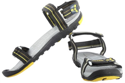 Lotto Aldo Men Black, Grey Sandals