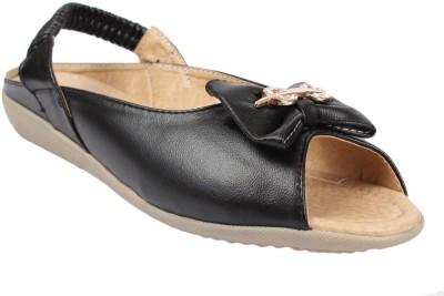 AALISHAN Women Black Flats