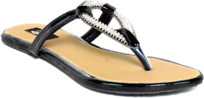 Just Flats Women Black, Beige Flats
