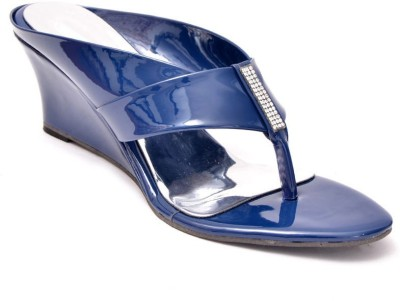 Lee Walk Women Blue Wedges