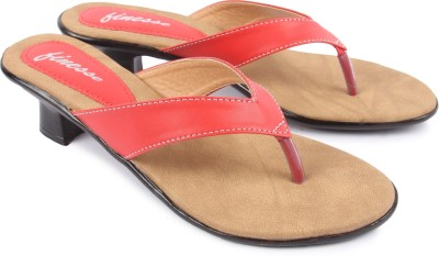 Finesse Women Red Heels