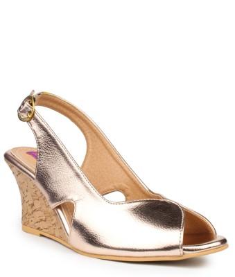 Fiorella Women Silver Wedges