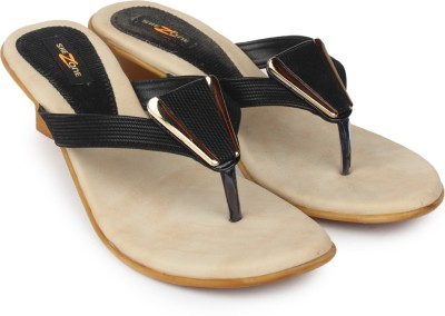 Shezone Women Black Heels