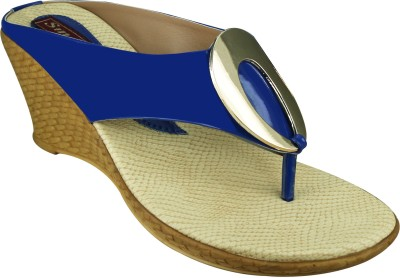 SMART TRADERS Girls Blue Sandals