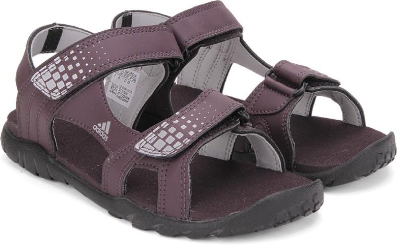Adidas Women MINRED/SILVMT/CBLACK Sports Sandals