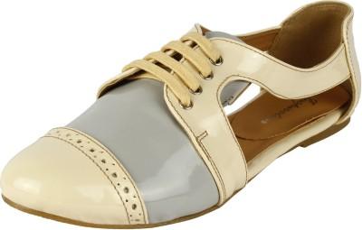 Inspiration Lkgbps Women Beige, Grey Flats