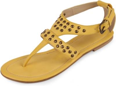 Amica Slexia Women Yellow Flats
