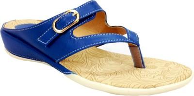 Russo Fashion Women Blue Flats