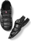 Roadster Men Black Sports Sandals