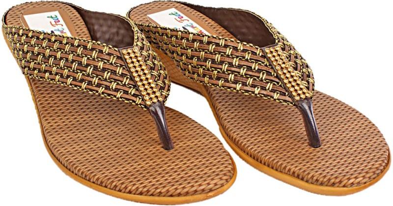 S.M.A.R.T Feet Women copper Sandals
