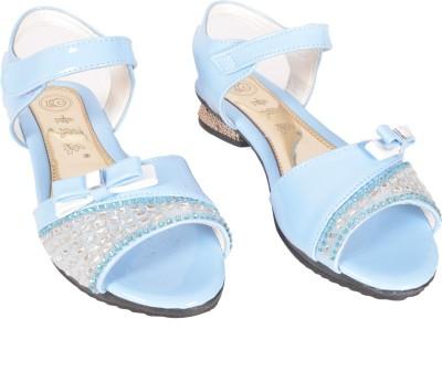 Junior Selection Girls Blue Sports Sandals