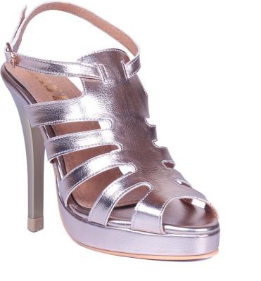 Gnist Women Silver Heels