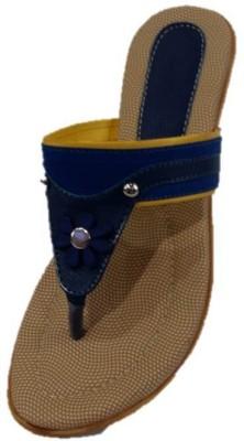 Pinki Shoes Women Blue Flats