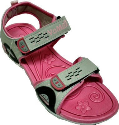 VoMax Women, Girls Grey, Pink Flats