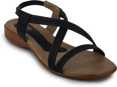 Metrogue Womens Stylish Women Black, Brown Flats