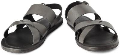 Van Heusen Men Black Sandals