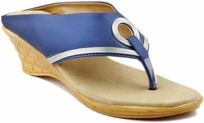 Creative Style Women Blue Wedges