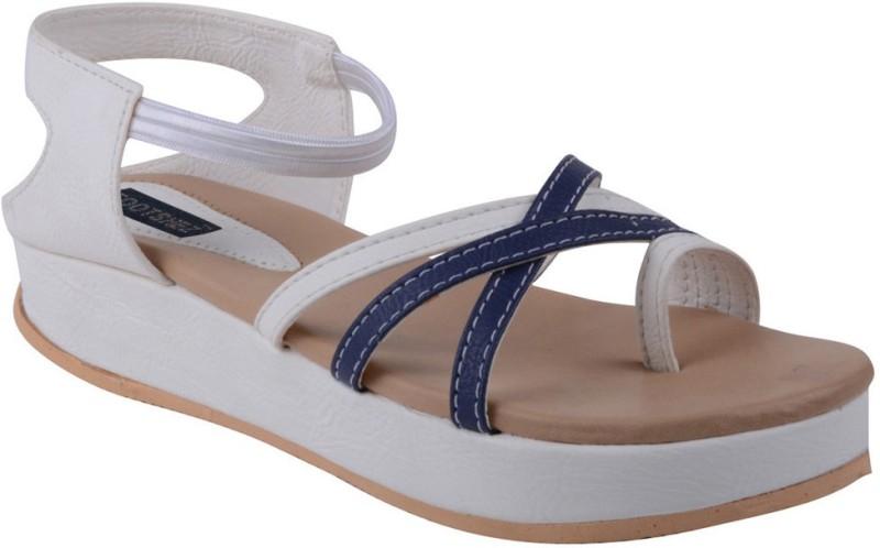 Footshez Women White Flats