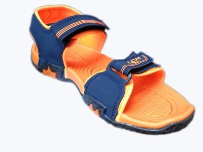 Lancer Boys Blue, Orange Sandals