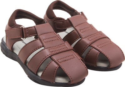 Kittens Boys Brown Sports Sandals
