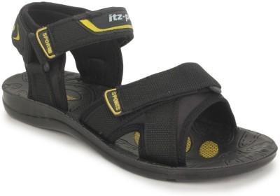 Italica Men Black Sandals