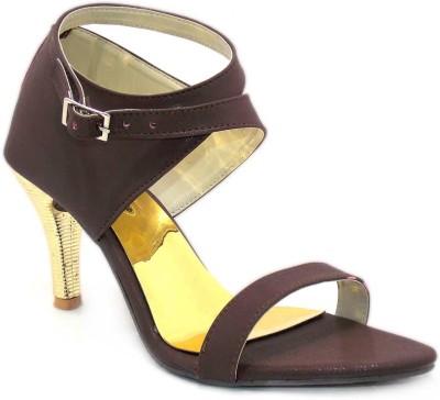 Aleg Women Brown Heels