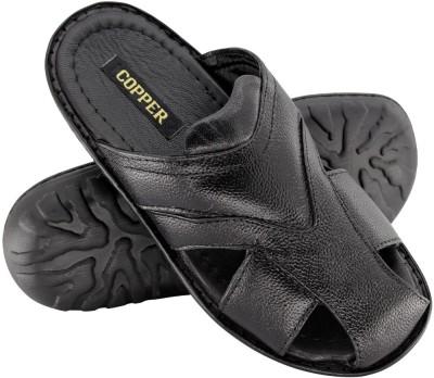 Copper C-8272 Men Black Sandals