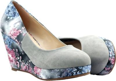 Pinellii Women Grey Wedges
