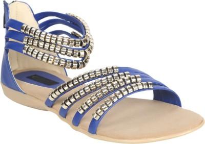 Fashionwalk Women Blue Flats