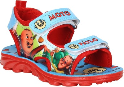 Windy Boys Red Sandals