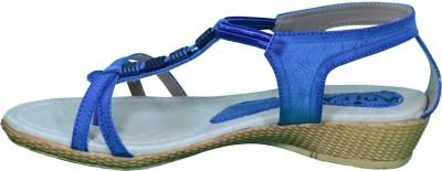 Anira Fashion Women Blue Wedges