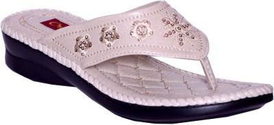 Credos Women Beige Flats