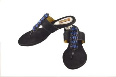 Gressum Women Black Heels