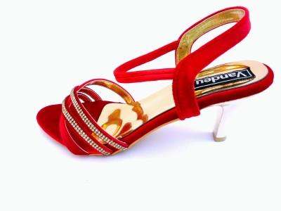 Vandeu Women Red Heels