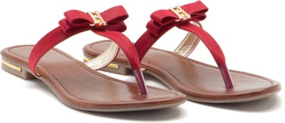 ALETA Women Red Flats