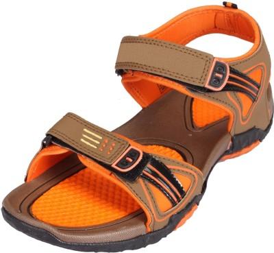 LEE WON Men Orange Sandals