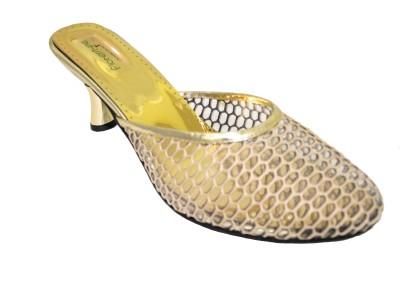 Florentyne Women Yellow Heels