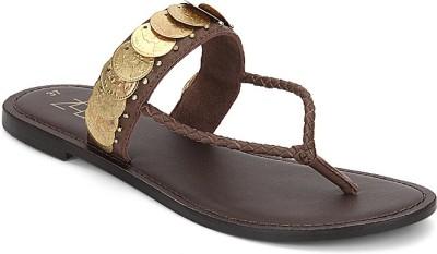 Zebba Women Brown Flats