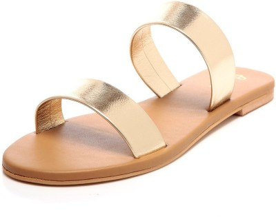 Awww Girls, Women Gold Flats
