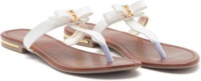 ALETA Women White Flats