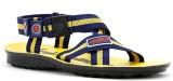 Elligator Men Yellow Sandals