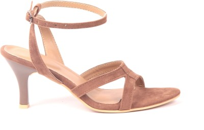 Adorn Women Brown Heels