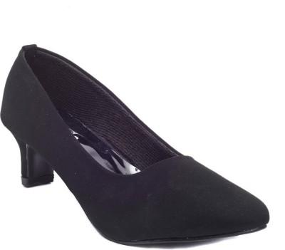 Dolphin Miles Women Black Heels