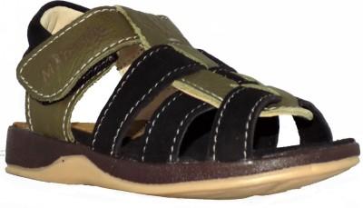 Trendy Enterprises Boys Green, Black Sandals