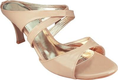 Spazzio Women Beige Heels
