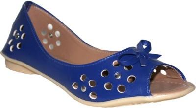 A La Mode Girls, Women Blue Flats