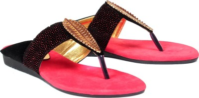 Vovina Women Red Flats